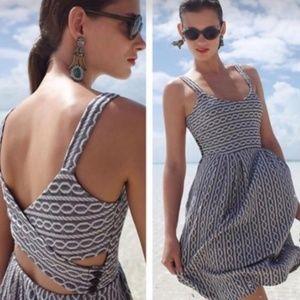 ANTHROPOLOGIE Rolo Crossback Dress {2C1}